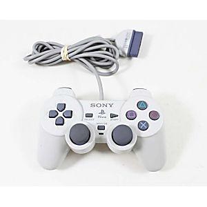 PS1 Original Dual Shock WHITE Controller
