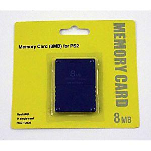 New 8MB Playstation 2 Memory Card