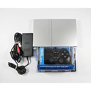Playstation 2 Slim Silver System - Discounted