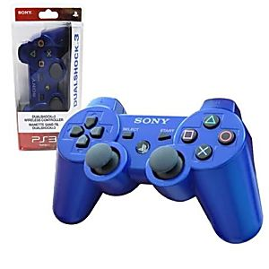 PS3 DUALSHOCK 3 WIRELESS CONTROLLER - BLUE