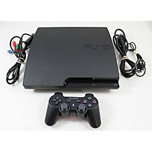 PS3 Slim System 320GB (Model CECH-2501B)