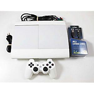 Playstation 3 PS3 Super Slim 500 GB System (White)