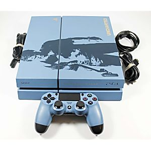 Playstation 4 PS4 Uncharted 4 Limited Edition 500GB System