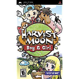 Harvest Moon Boy and Girl