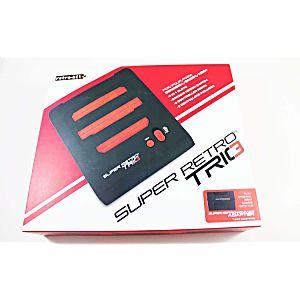 Super Retro TRIO - NES/SNES/Genesis 3 in 1 System - Red/Black