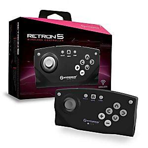 New RetroN 5 Hyperkin Bluetooth Wireless Controller (Black)