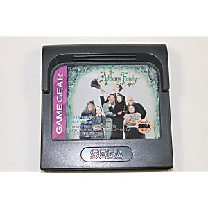 Addams Family Sega Game Gear