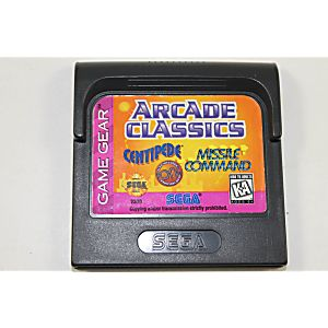 Arcade Classics Game Gear
