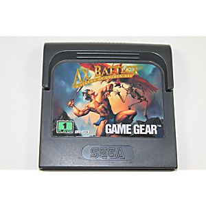 Axe Battler a Legend of Golden Axe Game Gear