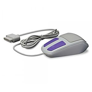 Hyper Click Retro Style Mouse for SNES