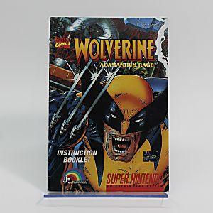 Manual - Wolverine Adamantium Rage - SNES Super Nintendo