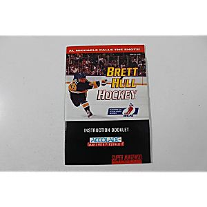 Manual - Brett Hull Hockey - Snes Super Nintendo