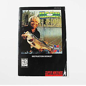 Manual - Jimmy Houston's Bass Tournament - Snes Nintendo