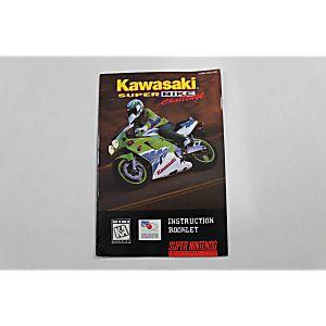 Manual - Kawasaki Superbike Challenge - Snes Super Nintendo