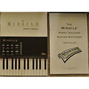 Manual - Miracle Piano Teaching System - Rare Nes Nintendo