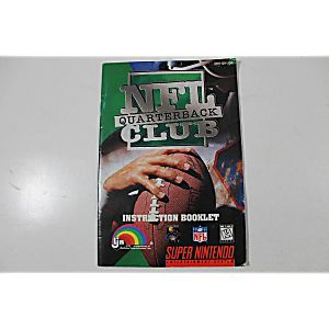Manual - SNES NFL Quarterback Club
