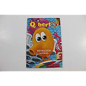 Manual - Q-Bert 3 - Snes Super Nintendo Qbert