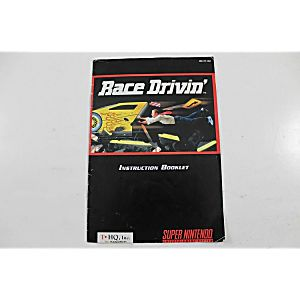 Manual - Race Drivin' - Snes Super Nintendo