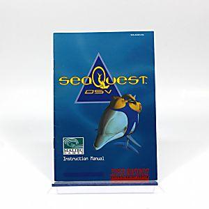 Manual - Seaquest Dsv - Snes Super Nintendo