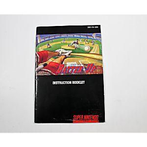 Manual - Super Batter Up - Snes Super Nintendo