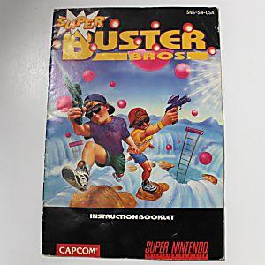 Manual - Super Buster Brothers - Snes Super Nintendo