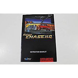 Manual - Super Chase Hq - Snes Super Nintendo