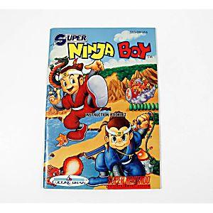Manual - Super Ninja Boy - Snes Super Nintendo