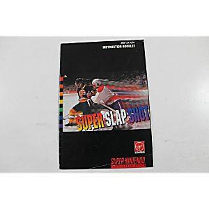 Manual - Super Slapshot - Snes Super Nintendo