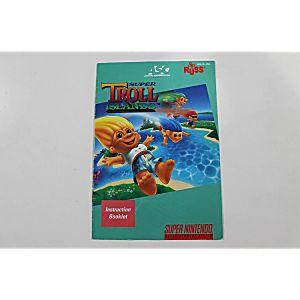 Manual - Super Troll Islands - Snes Super Nintendo