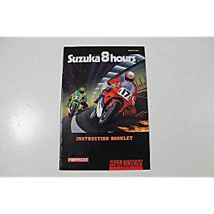 Manual - Suzuka 8 Hours - Snes Super Nintendo