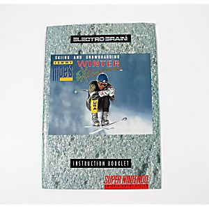 Manual - Tommy Moe's Winter Extreme - Snes Super Nintendo