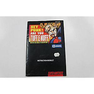 Manual - Tuff E Nuff - Snes Super Nintendo