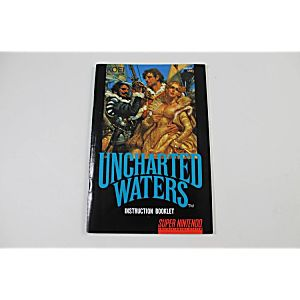 Manual - Uncharted Waters - Snes Super Nintendo