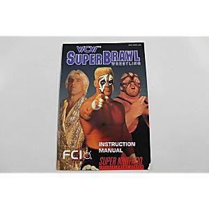 Manual - Wcw Super Brawl Wrestling - Snes Super Nintendo