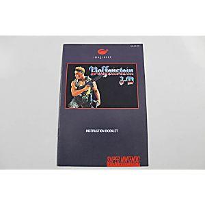 Manual - Wolfenstein 3D - Snes Super Nintendo