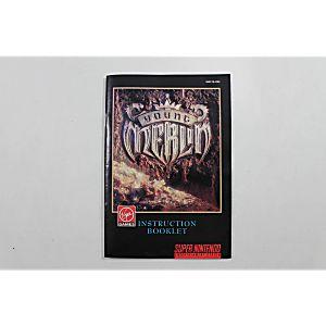 Manual - Young Merlin - Snes Super Nintendo