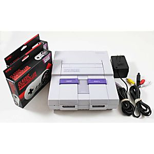 Super Nintendo System Refurbished