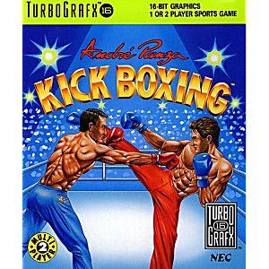 Andre Panza Kickboxing TurboGrafx-16 Game