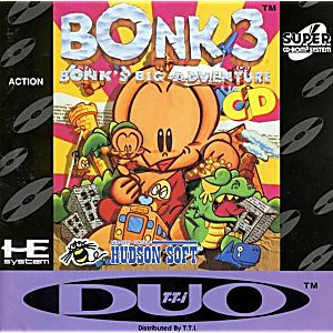 Bonk 3 Bonk's Big Adventure CD