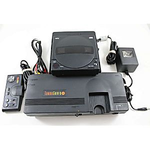 TurboGrafx-16 System with CD Attachment