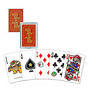 Playing Cards - Super Mario