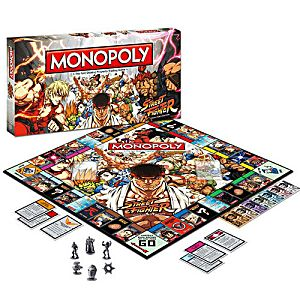 Street Fighter Monopoly