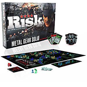 Risk - Metal Gear Solid Edition