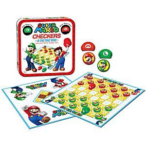 Super Mario Checkers / Tic Tac Toe