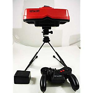 Rare Nintendo Virtual Boy Console With Battery Pak