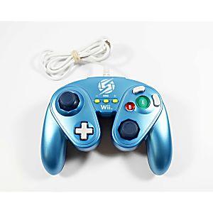 Nintendo Wii U Fight Pad Controller - Zero Suit Samus (Blue)