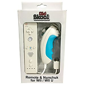 Wii Controller Bundle - Nunchuk and Remote White