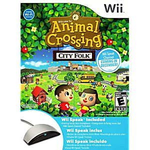 Animal crossing city folk wii speak bundle nintendo wii game for Agrandissement maison animal crossing wii