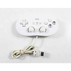 Nintendo Wii Classic Controller- White