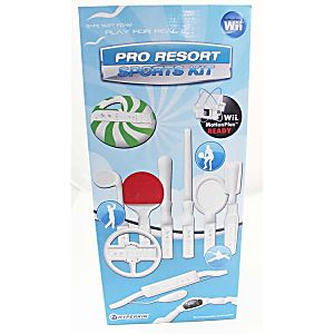 Wii Pro Resort Sports Kit